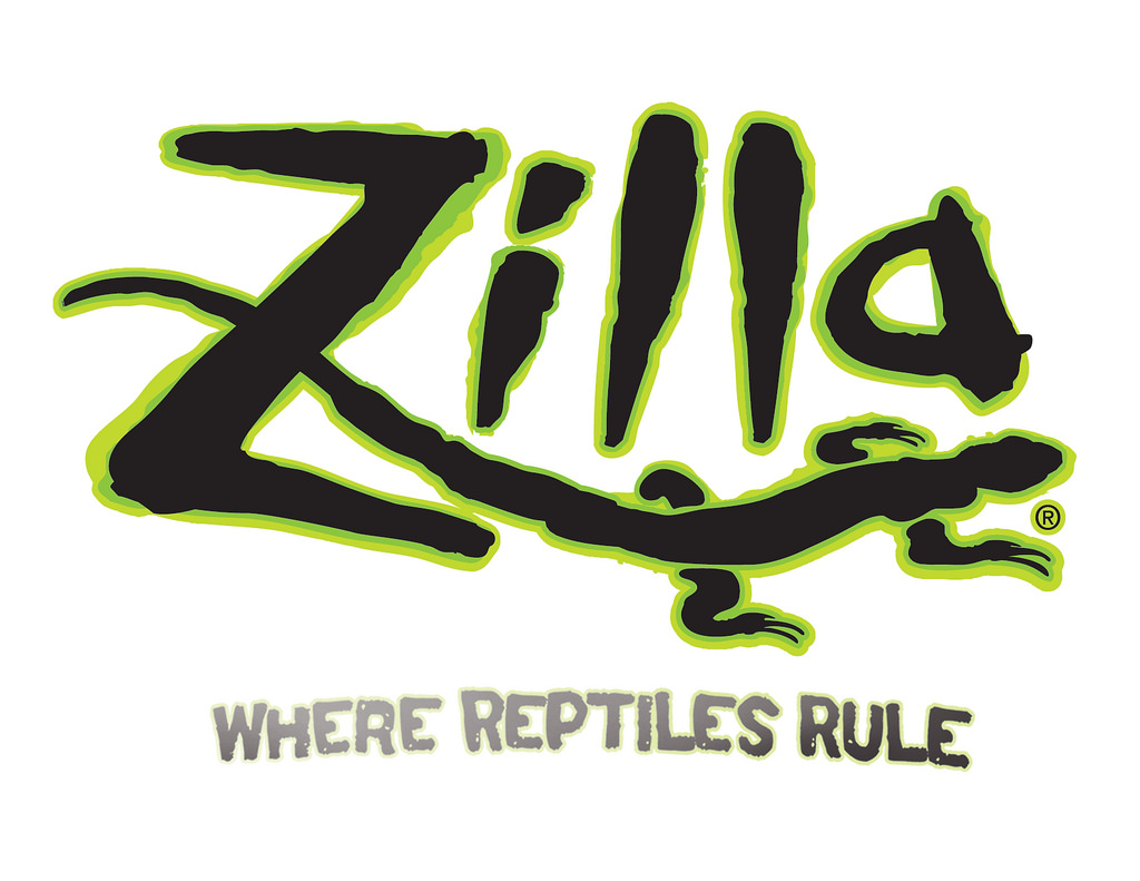 zilla reptiles logo image